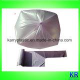 Sacco di plastica dei rifiuti, sacchetti di immondizia su rullo