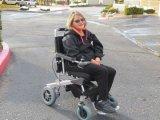 ¡Gran venta! E-Trono! Potencia, peso ligero plegable eléctrico Mobility / Aids Scooter / silla de ruedas motorizada / silla de ruedas eléctrica