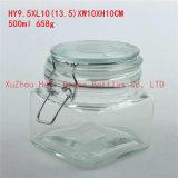 シール・ガラスの瓶のガラスコーヒー瓶キャンデーのガラス瓶700ml