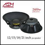 """1600 Watt Effektivwert-15 """" /18 """" hohe Leistung PAwoofer-Lautsprecher"""