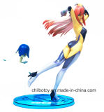 La figura di plastica sexy giapponese più poco costosa calda gioca (CB-PF001J)