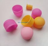 Tampão/copo personalizados da borracha de silicone