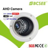 CCTV Camera (BVD30HB-AHD100) di CMOS 1.0MP 720p 1200tvl Vandalproof IR Dome Camera Ahd Security