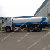 Sinotruk HOWO 25 입방 미터 물 물뿌리개 유조 트럭