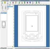 De Sticker van de Telefoon van de Cel van de douane 3D Software van het Ontwerp