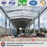 Magazzino veloce usato comune della struttura d'acciaio della costruzione