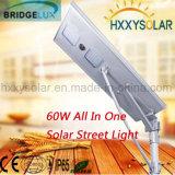 réverbère solaire Integrated extérieur de la lumière DEL du modèle 60W neuf
