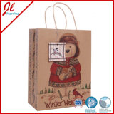 Brown Kraft Paper Bags per Christmas