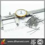 Chinesische Hersteller-Schlitz-Blatt-Edelstahl-Fasern für Beton und Baumaterialien