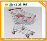 150L de Aziatische Karretjes van het Type van Boodschappenwagentjes van de Supermarkt van de Stijl