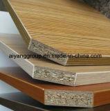 la melamina de madera del grano de 15m m hizo frente a la tarjeta de partícula/al conglomerado para Lipping