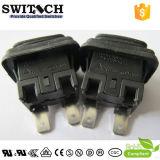 El SGS IP67 impermeabiliza el interruptor de botón cuadrado con el LED