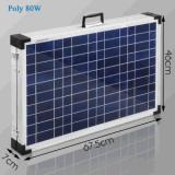 호주에 있는 캐라반으로 야영을%s 120W Foldable 태양 전지판