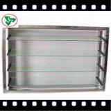 ясность 4mm 5mm 6mm, бронзовый поплавок и замороженное стекло жалюзиего для окна