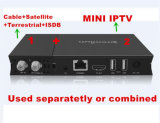 別のチューナーの部品のためのプラグイン可能なチューナーデザインの衛星TVの受信機