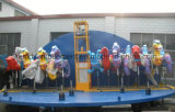 Просто езды Riding лошади Carousel стеклоткани занятности с 10 местами