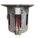 Fornace elettrica per media frequenza delle coperture di alluminio