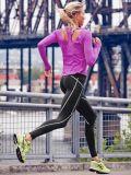 Чернота Xs шага Athleta отражательная плотно тяжелое дыхание йоги гетры