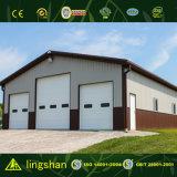 Entrepôt en acier préfabriqué moderne de coût bas