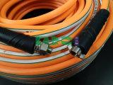 Boyau à haute pression de jet de PVC de jaune flexible