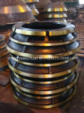 高いマンガンの円錐形の粉砕機の部品