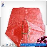 Sac net de maille de gaze de pomme de terre d'oignon de la Chine
