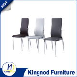 Дешевый стул столовой кожи пробки металла, стул металла