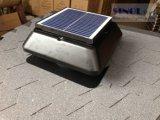 12inch傾きPV 12WのDCのブラシレスモーター(SN2013001)を搭載する太陽動力を与えられた屋根の出口