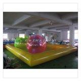 Бассеин воды горячих спортов лета раздувной с шариком воды гуляя