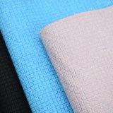 Funkeln-strukturiertes Muster PU-Leder, Korbgeflecht-Muster-Beutel-Leder