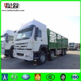 Fabricante chinês HOWO 8X4 371HP Heavy Truck 40t Cargo Truck