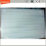 3-19mm sérigraphie résistant aux UV / gravure acide / givré / motif plat / bient trempé / verre trempé pour LED Light, table de bord et décoration avec SGCC / Ce