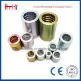 Virola hidráulica del manguito de Huatai 03310 para el manguito 2sn del SAE 100 R2at/En 853 de la fábrica hidráulica de la virola de China