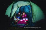 Luz solar inflável para a caminhada de acampamento do curso