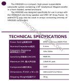 Audio Systeem de Professionele Spreker Vrx918s van Subwoofer van 18 Duim