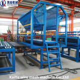 自動金網の溶接機の生産ライン