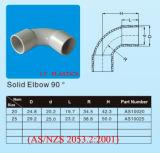 PVC padrão do 2053.2:2001 de AS/NZS cotovelo de 90 graus