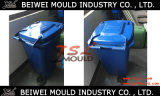 Moule en plastique de casier d'ordures