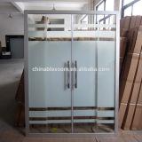 Allegato di vetro dell'acquazzone del portello della stanza da bagno del fiore 100-220cm (BLS-V9970)