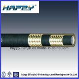 SAE100 R16 Draht-umsponnener hydraulischer Schlauch
