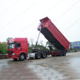 Изготовление с 2007 2 Axle/трейлера Tipper ног Axles 20FT/