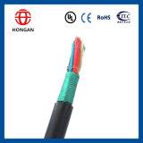 Cable compuesto Óptico-Eléctrico de la nueva llegada con la cinta de acero