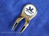 Golf personalizzato Divot Tool con Ball Marker/Hat Clip/Money Clip