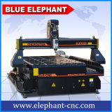 Blue Elephant 1325 4 axes Stone CNC Machine / 3D Stone Carving Router