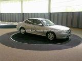 Plataforma giratória elétrica do carro de 360 graus para o indicador, garagem, entrada de automóveis