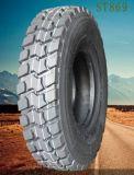 Fournisseur d'usine de pneu en Chine tout le pneu en acier du pneu radial 12r22.5 TBR