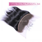 ペルーのレースの毛の工場からの正面バージンの人間の毛髪の卸売