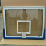 Tablero trasero de baloncesto claro del vidrio Tempered del ADP de la mayor nivel