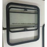 Тип алюминиевое сползая окно Bochi Customzied светлый