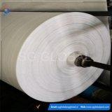 Tissu en gros de raphia tissé par pp d'OEM de qualité